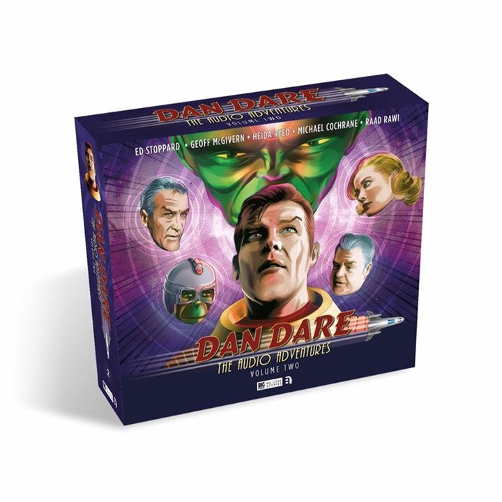 Dan Dare: The Audio Adventures Volume Two Out Now, and the Mekon is