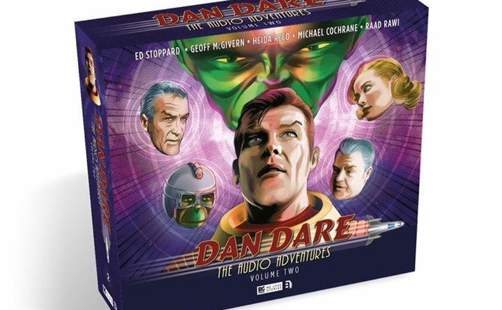 Dan Dare: The Audio Adventures Volume Two - Box Art