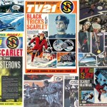 Captain Scarlet Comics Montage