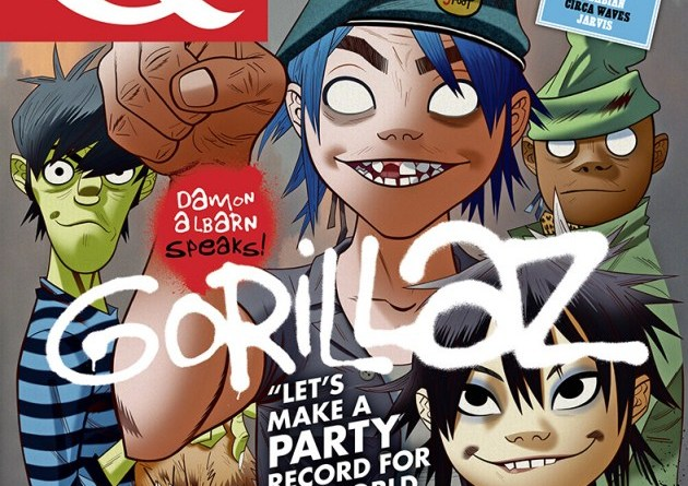 Q - Gorillaz Cover - June 2017