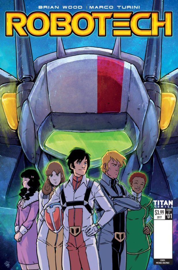 Robotech #1 Cover D - Mike Dialynas