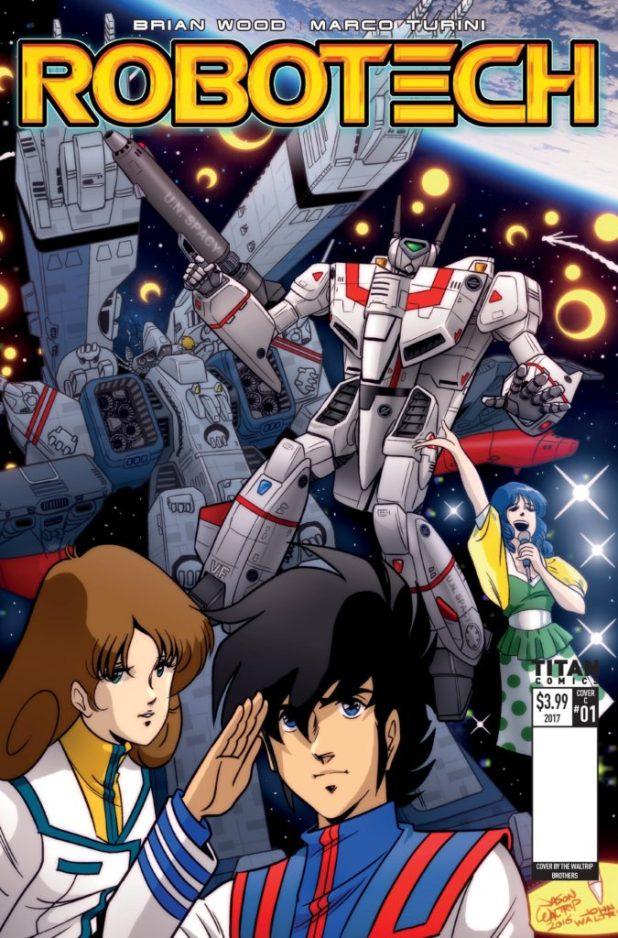 Robotech #1 Cover E - Waltrip Bros