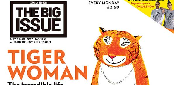 """Big Issue celebrates the life of """"Tiger who came to Tea"""" author Judith Kerr"""