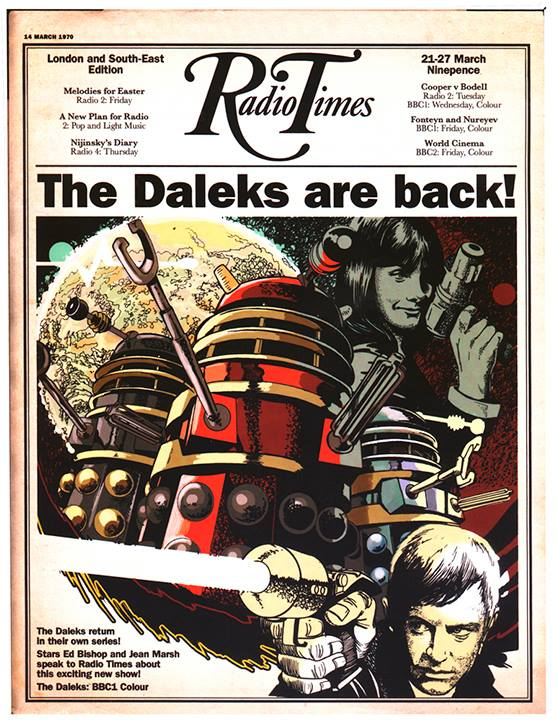 A Radio Times faux Doctor Who cover by Brian Williamson