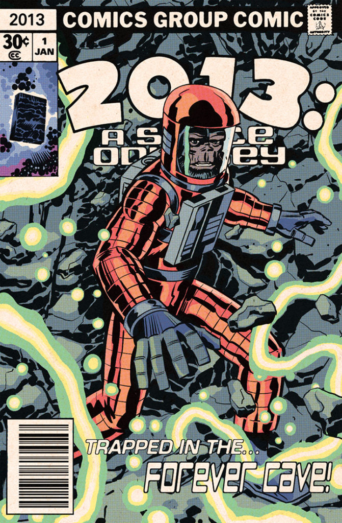 Edmund's annual tribute to one of his influences, Jack Kirby, which you will find on the Jack Kirby Museum web site