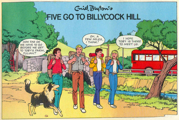 Enid Blyton Adventures Issue Six - Panel