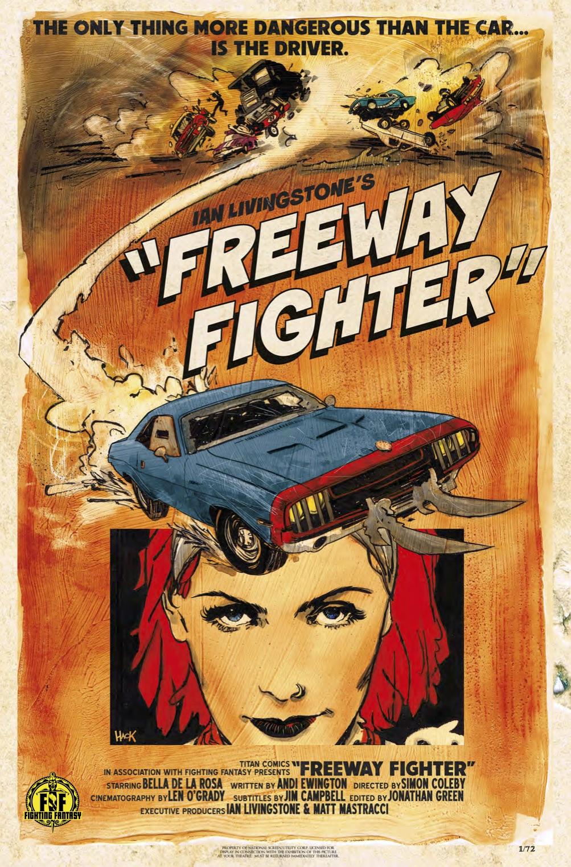 On Sale This Week: Ian Livingstone's Freeway Fighter #1 (Sneak Peek)