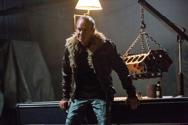 Michael Keaton as Adrian Toomes aka The Vulture