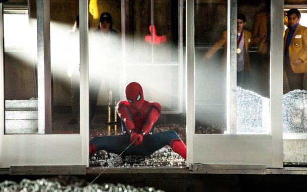 Spider-Man in action