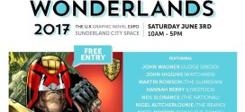 Wonderlands UK Graphic Novel Expo Returns to Sunderland in June