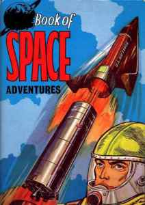 The Book of Space Adventures 1963 - Cover