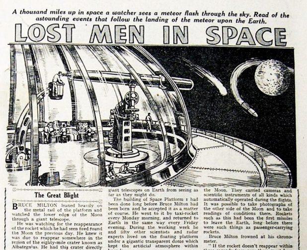 """Lost Men in Space"""