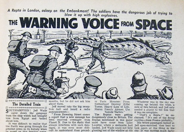 """The Warning Voice from Space"""
