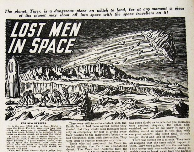 """The Lost Men in Space"""