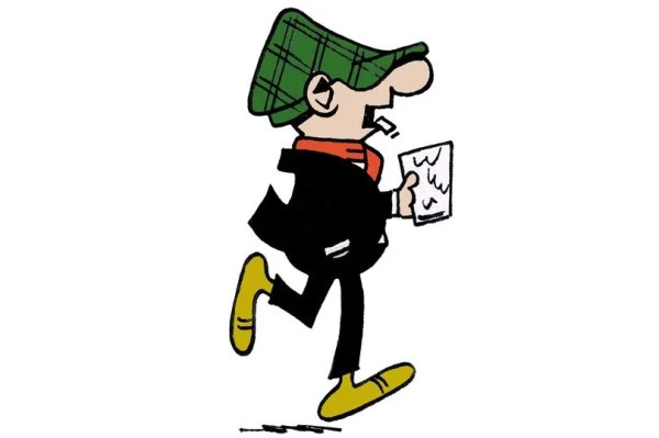 Andy Capp copyright Daily Mirror