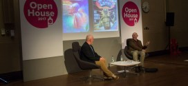 John Higgins talks comics in Liverpool