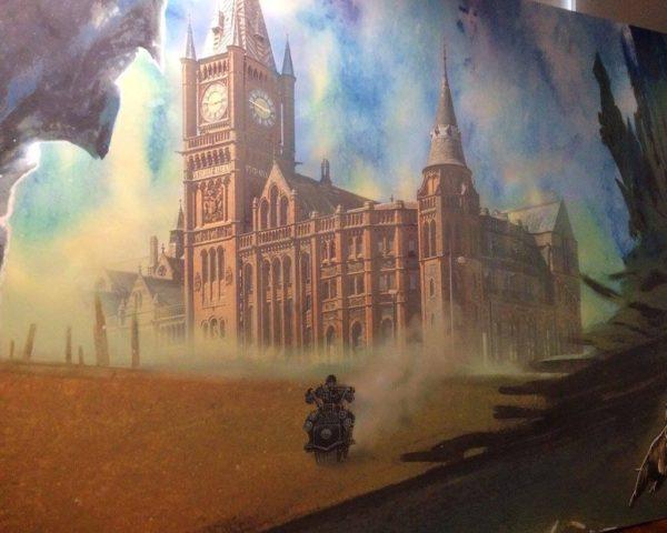 John Higgins Art Exhibition (Judge Dredd) - Liverpool 2017