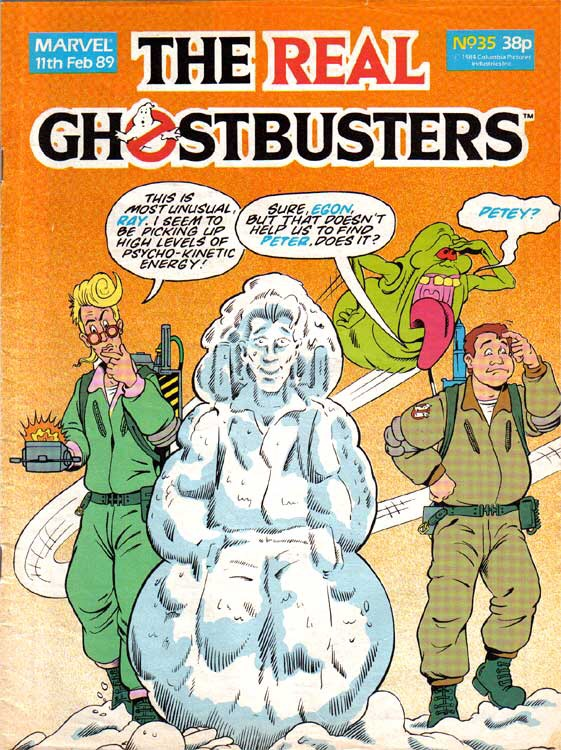 The Real Ghostbusters #35 (Marvel UK)