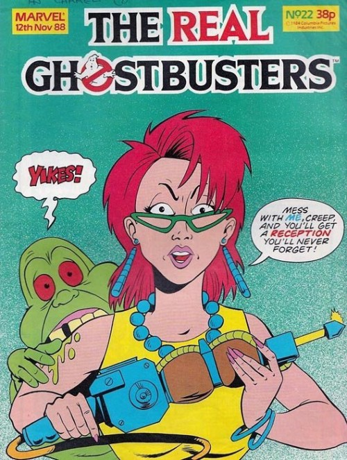 The Real Ghostbusters #22 (Marvel UK)