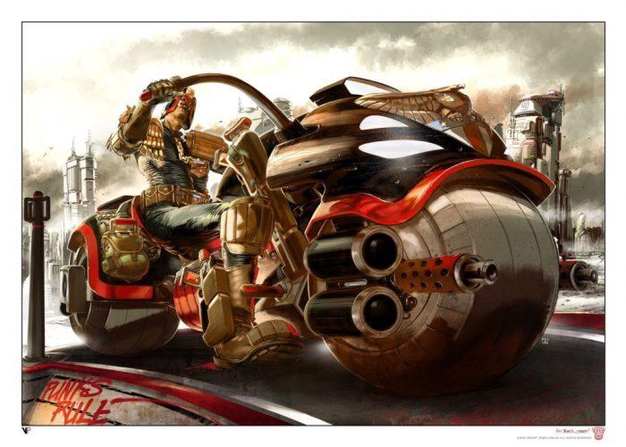 Judge Dredd by Jake Lynch
