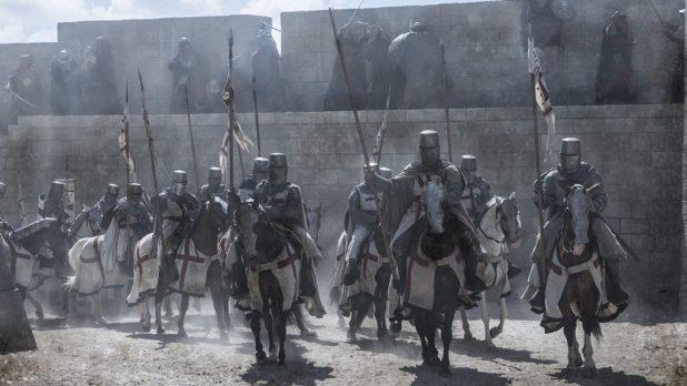 Knightfall Image A+E Network/History Channel