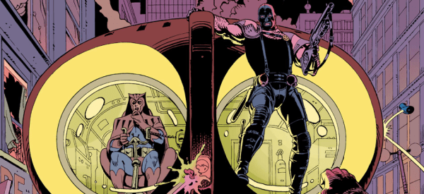 Art from Watchmen by Dave Gibbons