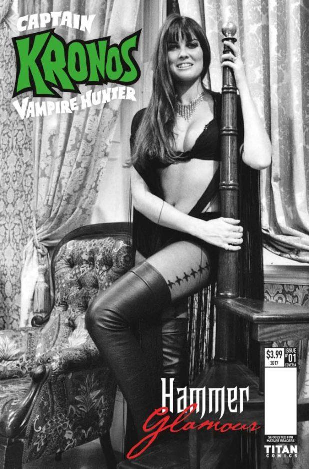 Captain Kronos # 1 Cover B: Hammer Glamour - Caroline Munro