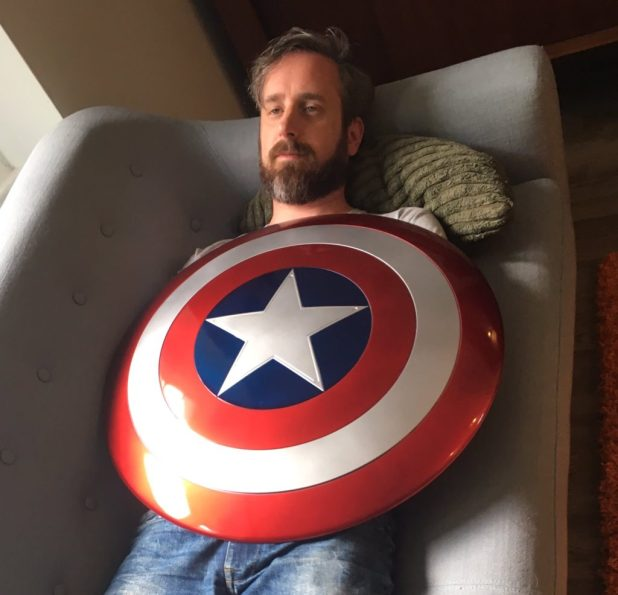 """Could this be one of Chip Zdarsky's poses for the Festival """"Big Draw""""?"""