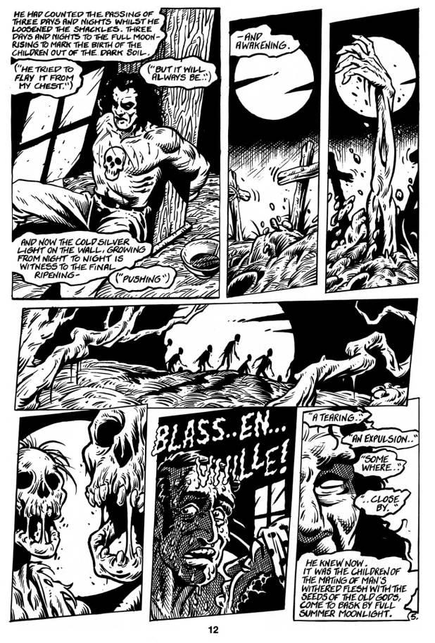 Art from Harrier Comics Deathwatch #1