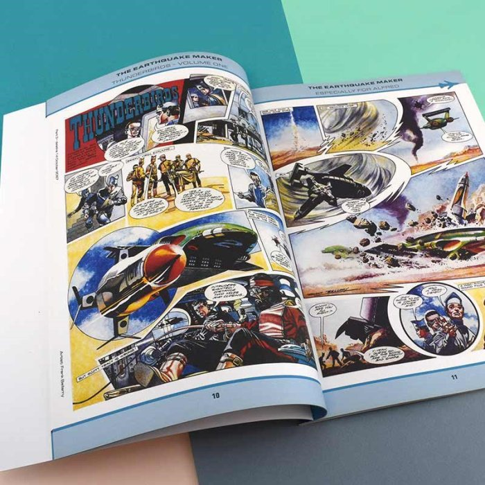Personalised Thunderbirds Are Go Books
