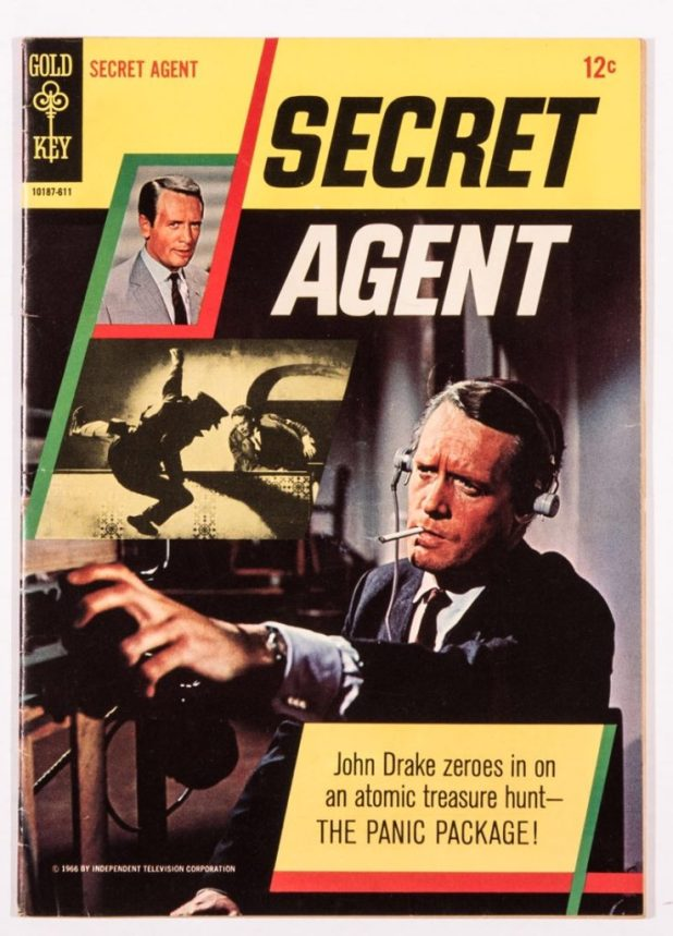 Gold Key Secret Agent Comic