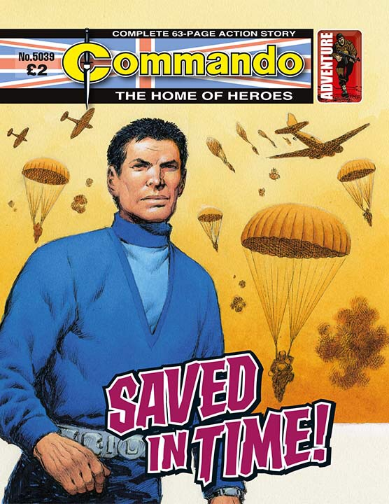 Commando 5039: Home of Heroes - Saved in Time!