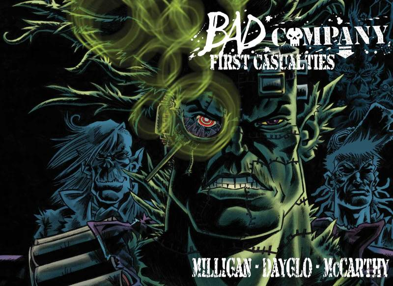 Bad Company - First Casualties Cover by Rufus Dayglo