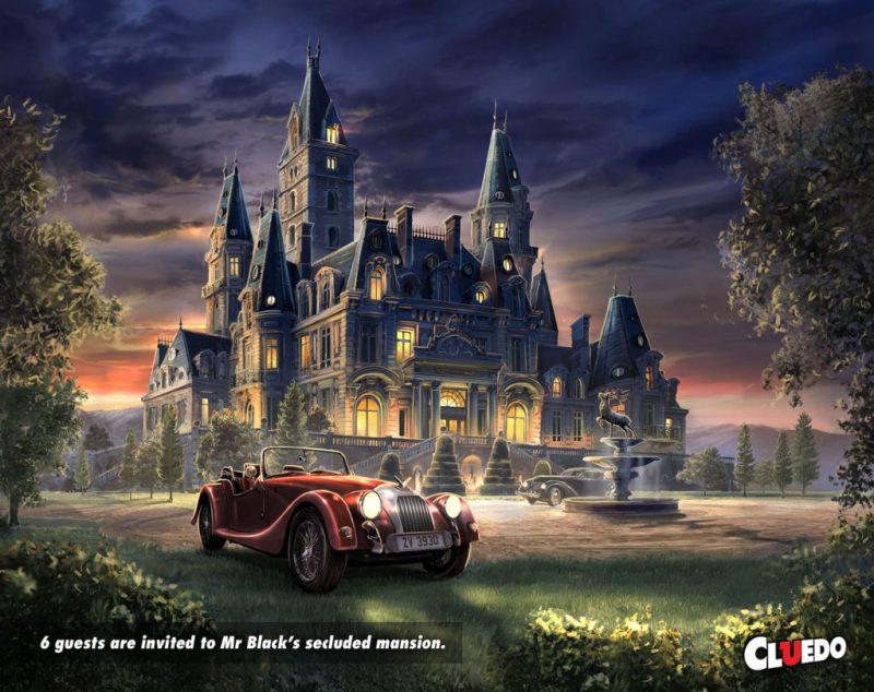Cluedo - Mansion Exterior