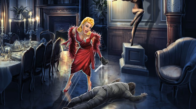 Cluedo - Scarlett with Dagger