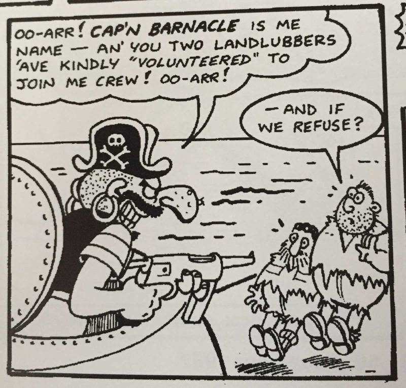 Combat-Colin #1 - Cap'n Barnacle