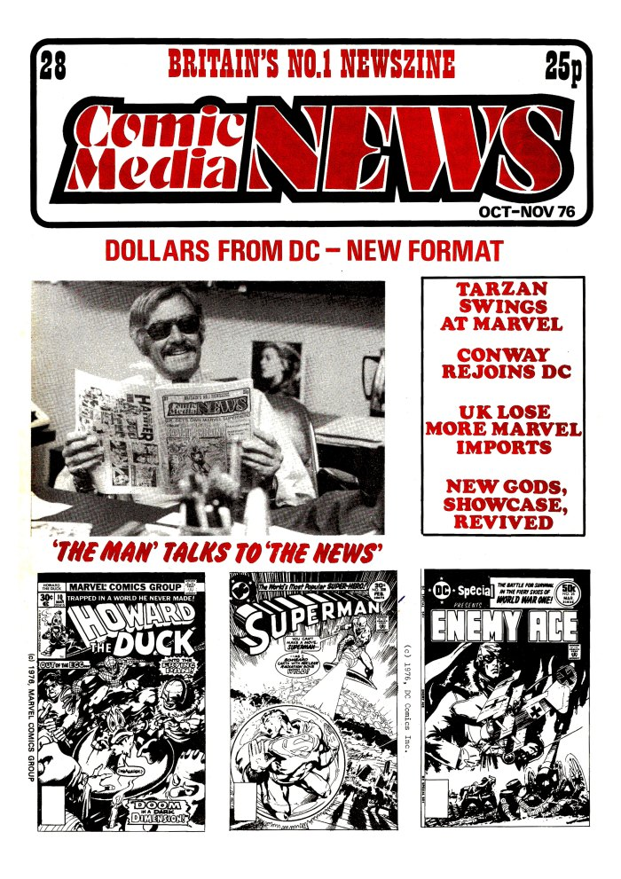 Comic Media News 28 - Cover