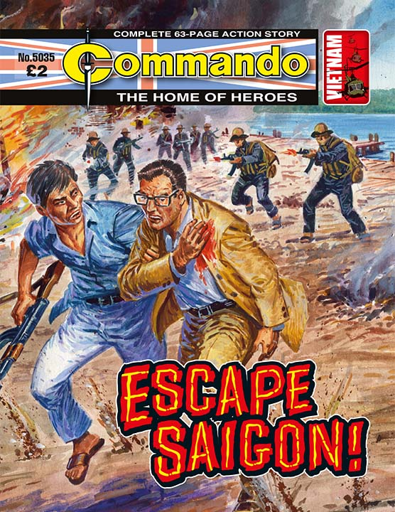 5035: Home of Heroes - Escape Saigon!