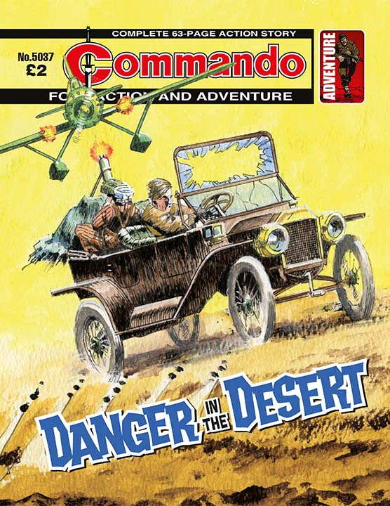 Commando 5037: Action and Adventure - Danger in the Desert