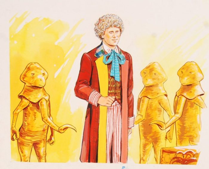 An illustration for the 1985 Doctor Who Annual