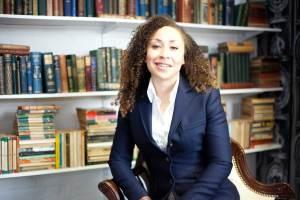 Lauren Giles, founder of the Décor Books web site. Image: Décor Books