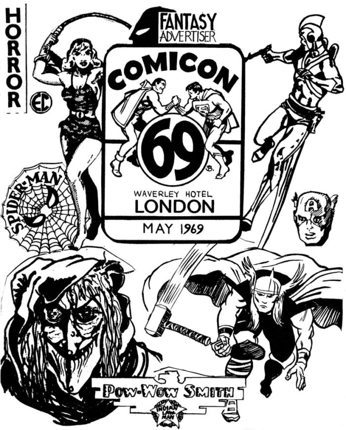Fantasy Advertiser - Comicon 69 Special