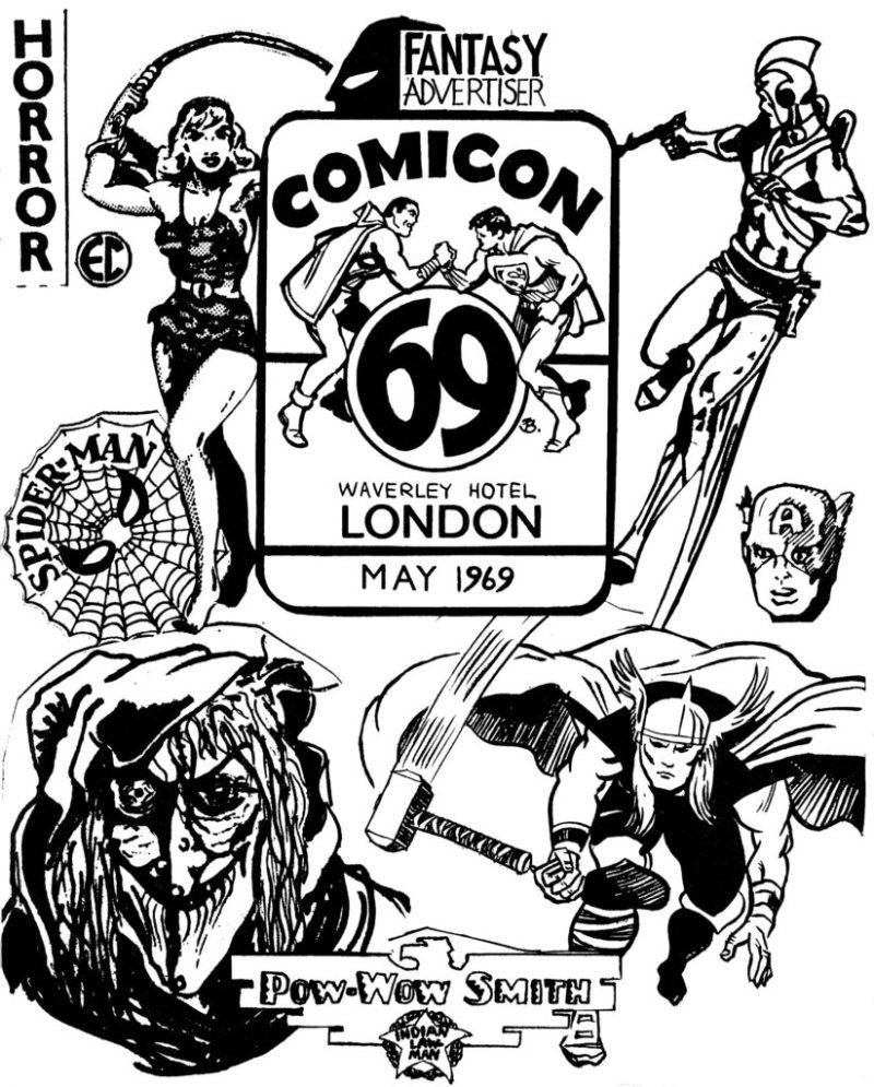 Fantasy Advertiser - Comicon 69 Special