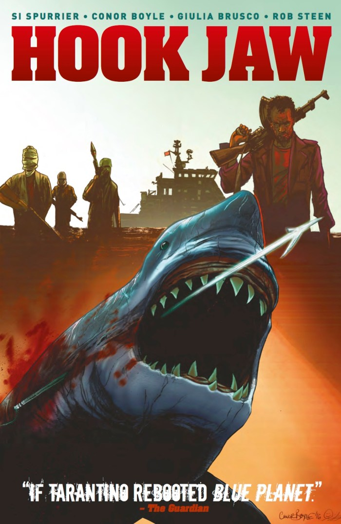 Hook Jaw Volume 1 - Collection Cover