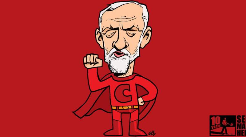 Jeremy Corbyn by JAKe