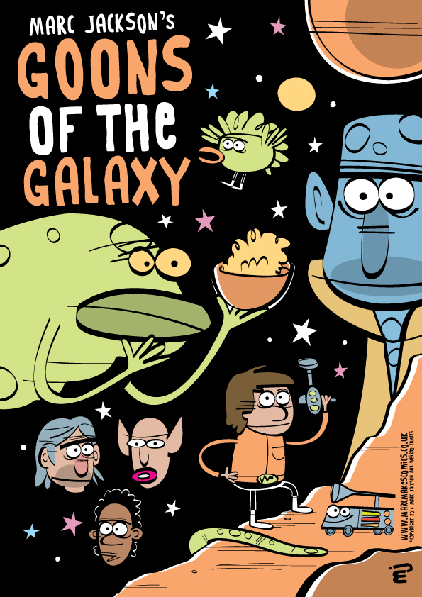 Goons of the Galaxy by Marc Jackson