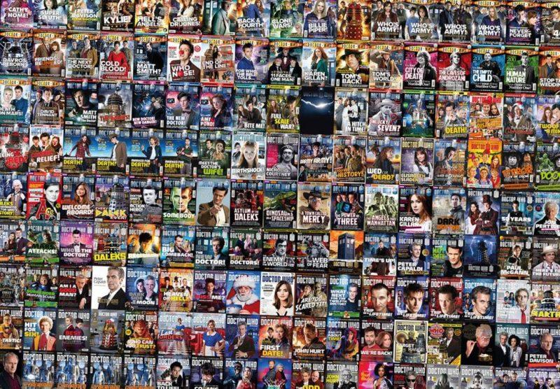 Tom Spilsbury Doctor Who Magazine Covers