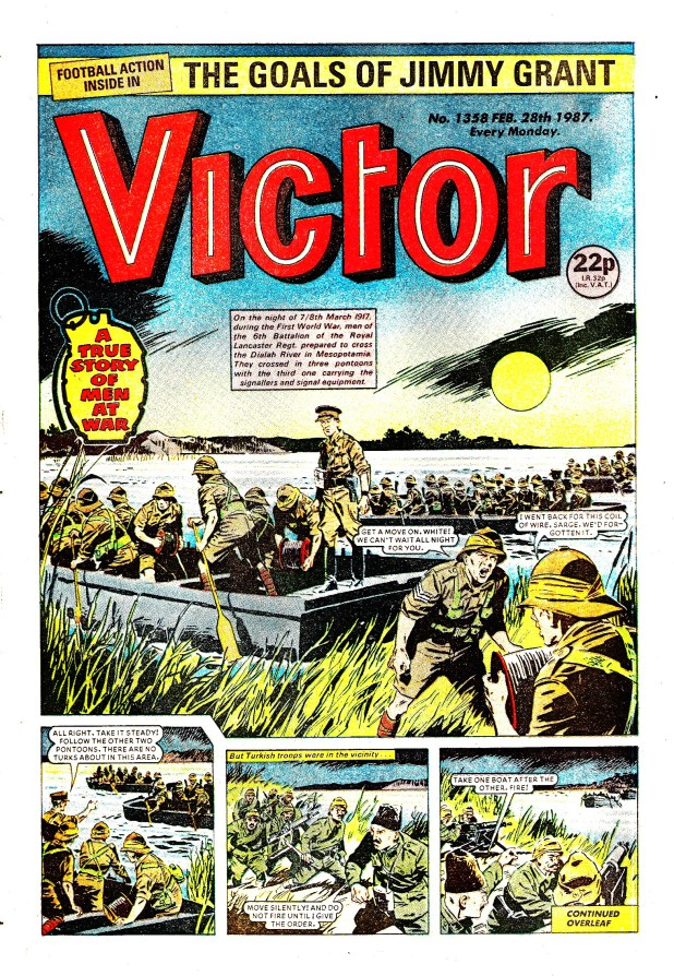 Victor (Issue 1358 - KIng's Own Story - Cover