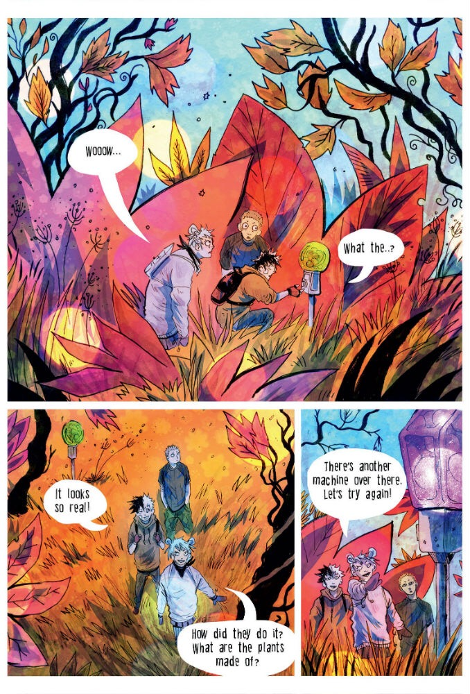 Broken Frontier Small Press Year Book 2017 - Art by Jey Levang