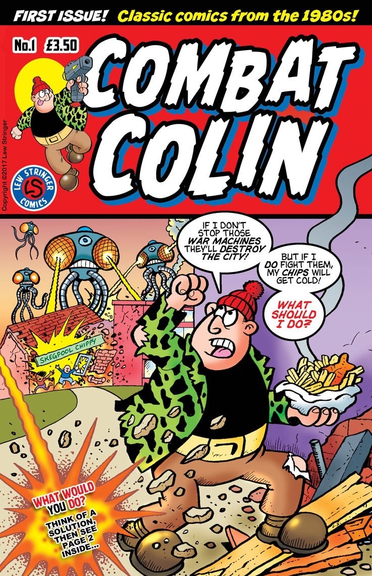 In Review: Combat Colin #1 by Lew Stringer